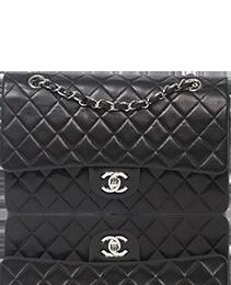 Chanel Classic double flap 26cm Black