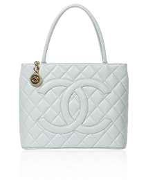 Chanel Medaillon Light Blue