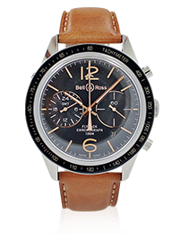 Bell & Ross BR 126 Sport Heritage GMT & Flyback Watch BRV 126-FLY-GMT/SCA