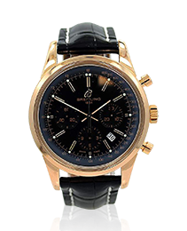 Breitling Rose Gold Transocean 01 Chronograph Wristwatch
