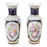 Pair of 19th Century Porcelain Vases