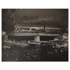 O Winston Link, Bridge 425, Arcadia, Virginia, 1956