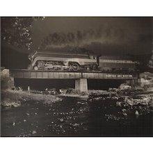 O Winston Link, Bridge 425, Arcadia, Virginia, 1956