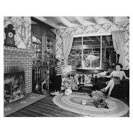 O Winston Link, Living Room on the Tracks, Lithia, Virginia, 1955