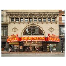John Woolf, Globe Theater, Boston, 2014, 1/10