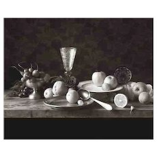 D W Mellor, Still Life with Spoon, Prague, 1994