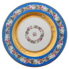Set of 10 Royal Bavarian Dessert Plates, Early 20th Century