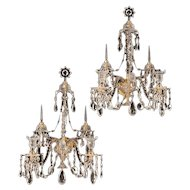 Pair of Adam-style Sconces