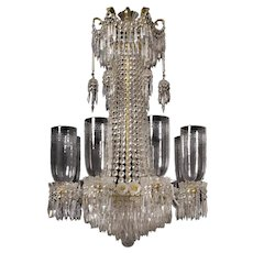 Regency Crystal Chandelier