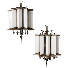 Pair of Sconces by Tomaso Buzzi