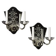Pair of Mirror Sconces
