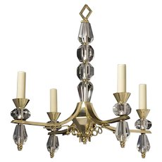 French Art Deco Chandelier