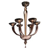 Art Deco Venetian Chandelier
