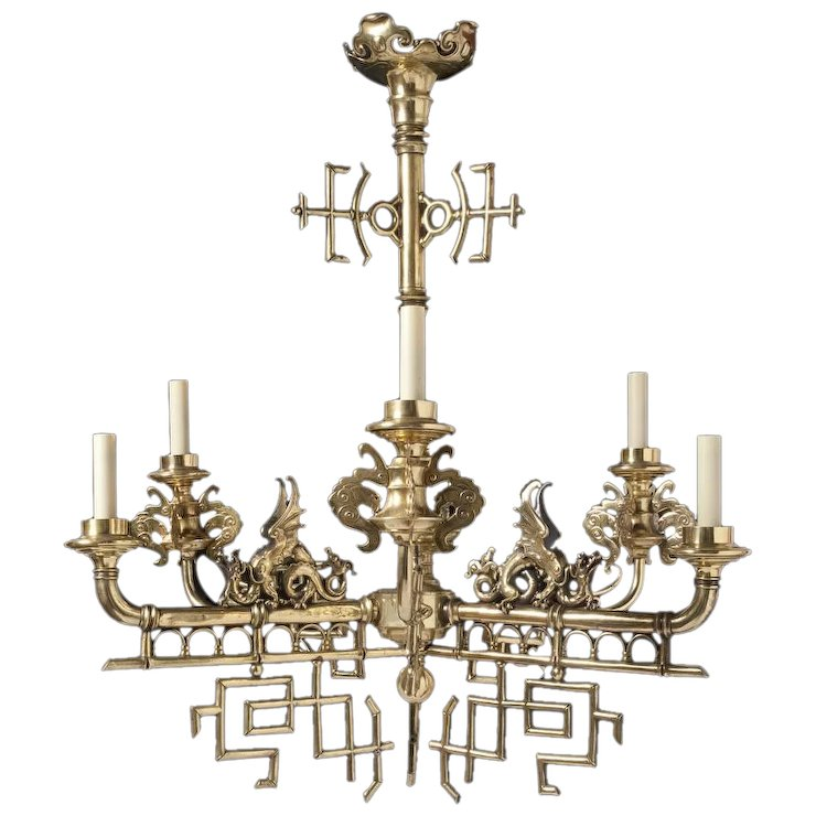 19th century french chinoiserie chandelier marvin alexander inc 19th century french chinoiserie chandelier aloadofball