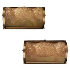 Pair of Wall Lights by Muller Freres