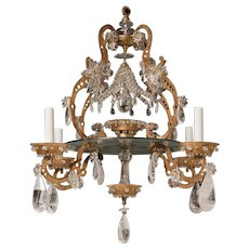 Maison Bagues Rock Crystal Chandelier