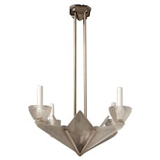Art Deco Chandelier by Hettier