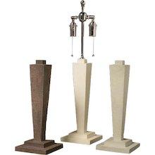 """ALEXA"" Art Deco Style shagreen table lamp"