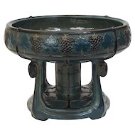 Teplitz Pottery Compote