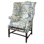 George III Wingback Chair