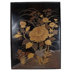 Japanese Lacquer box by Heian Zohiko