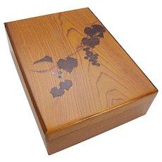 Japanese Cherry Wood Box