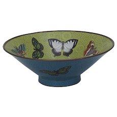Chinese Cloisonné Bowl