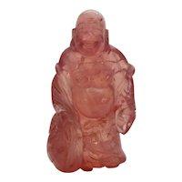 Rose Quartz Buddha
