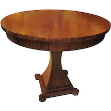 Circassian Walnut Neo-Classical-style Dining Table