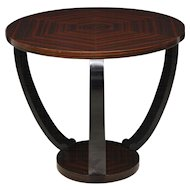 Pair of Macassar & Ebony Tables