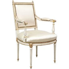 Pair of Louis XVI-style Armchairs by Jansen