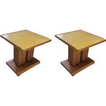 Dupre-Lafon-style End Tables