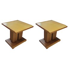 Dupre-Lafon-style End Tables