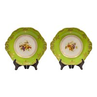 Pair Wedgwood serving plates.