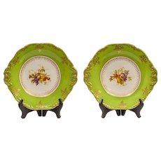 Pair Wedgwood serving plates.