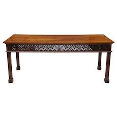 19th Century Georgian Style Mahogany Console Table