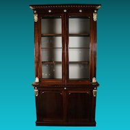 Very Fine William IV Rosewood Bookcase