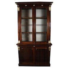 Very Fine William IV Rosewood Bookcase