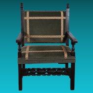 Late 17th Century Italian Walnut Chair
