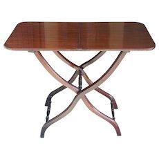 English Regency Period Mahogany Coaching Table