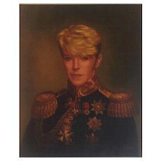Portrait of David Bowie by Thomas Vaughan