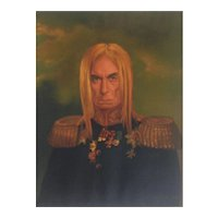 Portrait of Iggy Pop by Thomas Vaughan