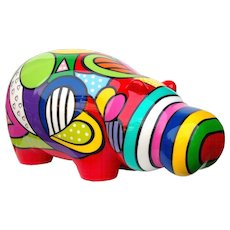 Hippo Color Bootie  by Arnaud & Adeline Azare-Aga