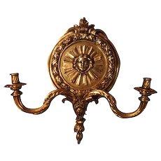 Cast bronze Sconces