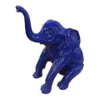 Baby Elephant Life size in fiberglass
