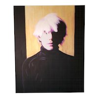 Painting  of Hayo Sol    :  Warhol Sixties Gold Edition
