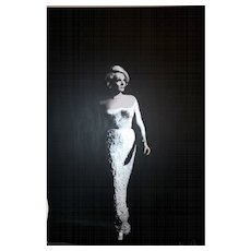 Painting  of Hayo Sol    :   Marlen Dietrich  ( unique piece)