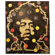Jimi Hendrix by Hulbert Waldroup