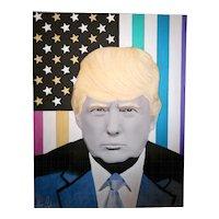 Painting  of Hayo Sol    :   TRUMP