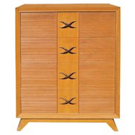 Paul Frankl Four Drawer Dresser for Brown Saltman
